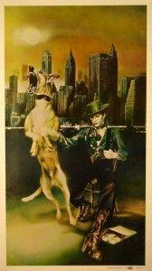 Diamond Dogs-D'après les guides de prix de la publication de collectionneurs de disques Goldmine, ces albums sont parmi les pièces de collection les plus chères de tous les temps, une seule copie valant plusieurs milliers de dollars. Les parties génitales ont rapidement été recouvertes pour la couverture du 33 tours de 1974, bien que le dessin original ait été inclus dans les rééditions suivantes de Rykodisc/EMI.