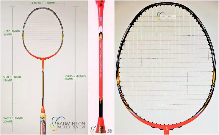 Ashaway Phantom X Fire Badminton Racket