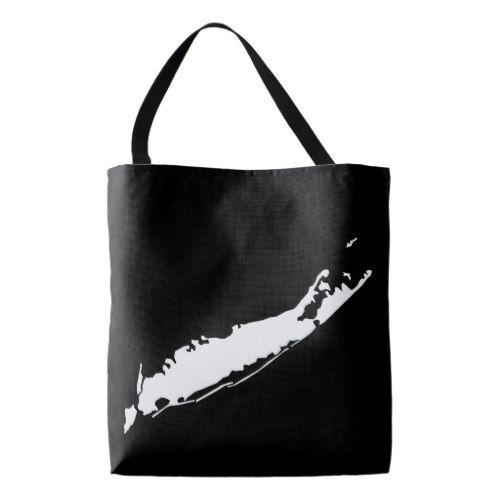 Long Island, New York | Any State or Country Map Tote Bag