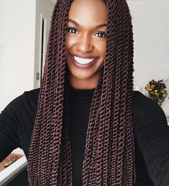 Remarkable 17 Meilleures Idees A Propos De Crochet Senegalese Twist Sur Hairstyle Inspiration Daily Dogsangcom