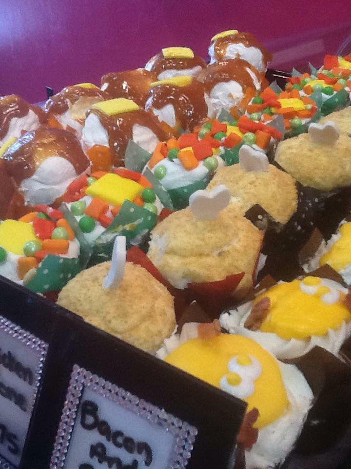 April fools cupcakes from Tamaras the Cake Guru