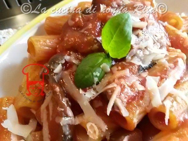 Pomodoro e melanzane per un primo piatto gustisissimo - La cucina di nonna Rita