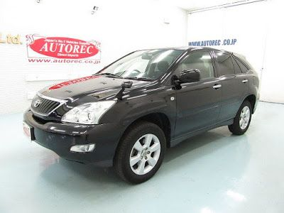Japanese vehicles to the world: 19607A7N8 2012 Toyota Harrier 240G for Tanzania to...