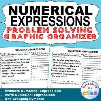 write and evaluate expressions 5th grade