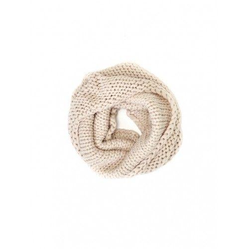 Titto Aria cirkel sjaal - off-white
