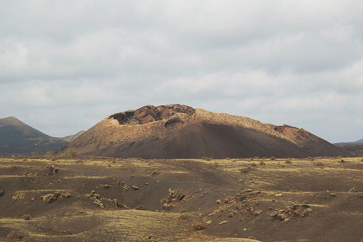 Traveling in Lanzarote - Lanzarote's volcano