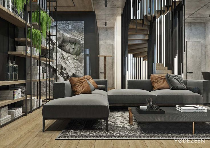 Residence with a contrast in Tbilisi on Behance