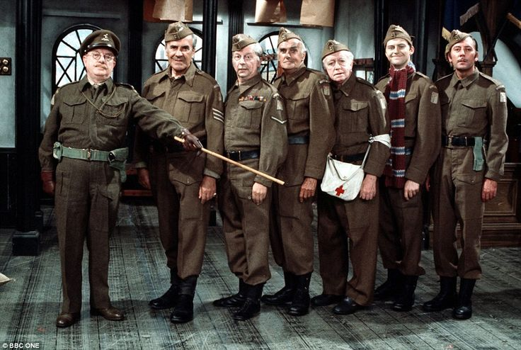 Dad's Army - Classic original cast •	Captain Mainwaring - (Arthur Lowe)  •	Sergeant Wilson - (John Le Mesurier)  •	Lance Corporal Jones - (Clive Dunn)  •	Private Frazer - (John Laurie) •	Private Pike - (Ian Lavender) •	Private Godfrey - (Arnold Ridley) •	Private Walker - (James Beck
