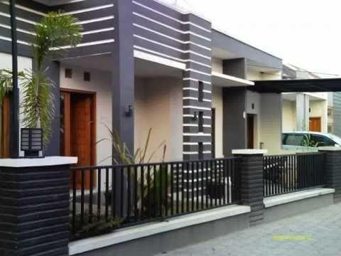 desain dinding teras rumah minimalis - YouTube
