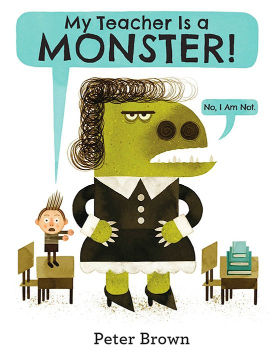 My Teacher Is a Monster: A Sweet Modern Fable About Seeing Through the Otherness of Others | Brain Pickings
