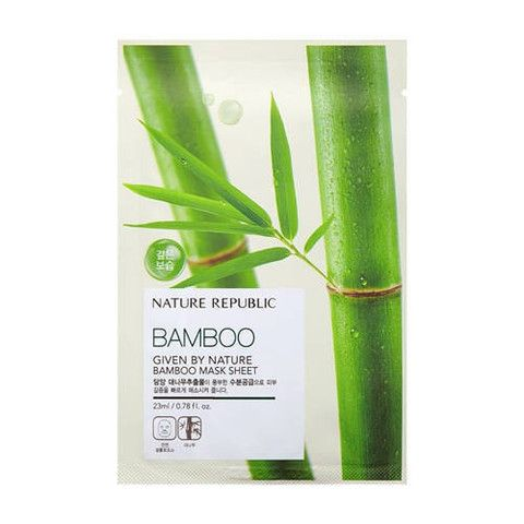 Given By Nature Bamboo Mask