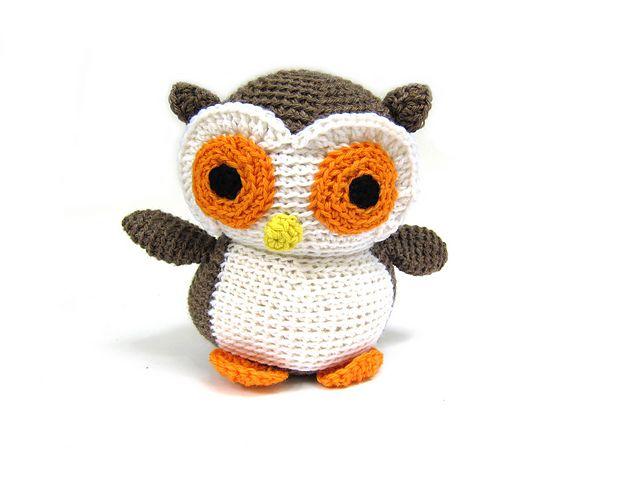 crochet owl by freshstitches