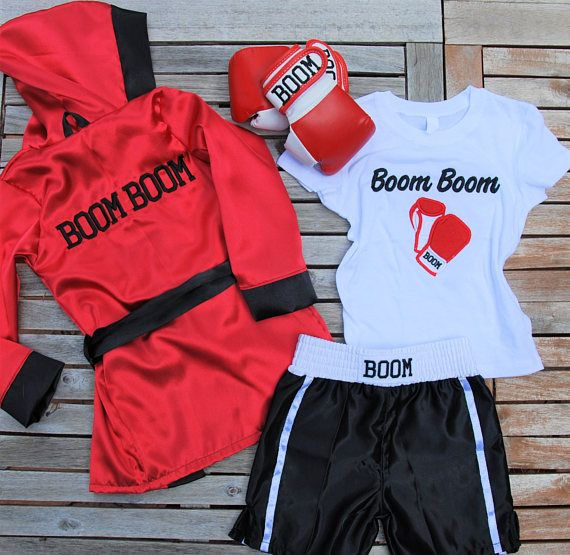 Kids Custom Boxing set/ Baby Fighter set/ Kids boxing  fighter