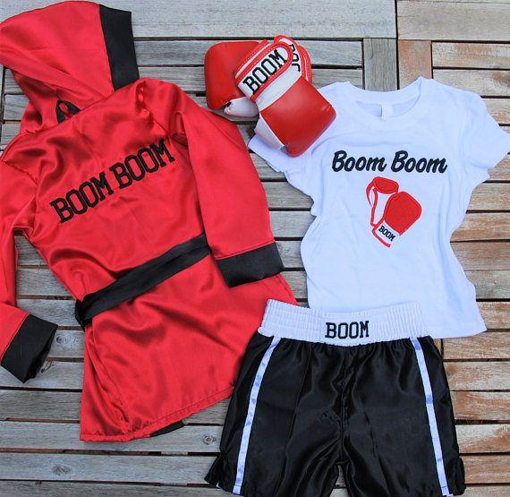 Kids Custom Boxing set/ Baby Fighter set/ Kids boxing  fighter