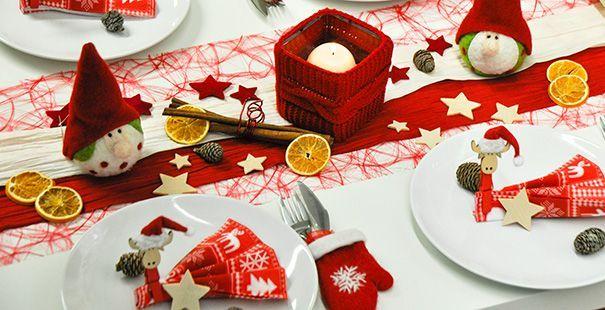 tischdeko weihnachten winter rot creme christmas pinterest. Black Bedroom Furniture Sets. Home Design Ideas