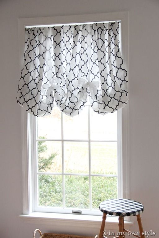 How to Make a No Sew Window Shade Using a Fitted SheetDecor Ideas, No Sewing Windows, Balloons Valances, Fit Sheet, Diy Windows, No Sewing Curtains, No Sew Curtains, Windows Shades, Windows Treatments