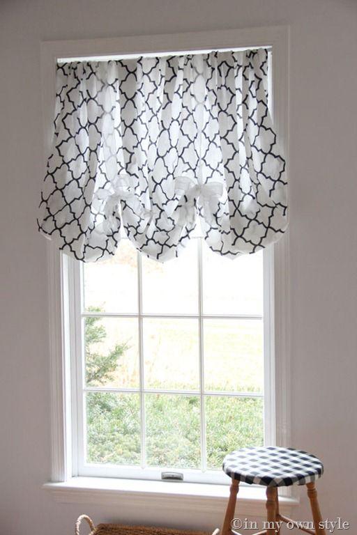 No sewing curtains balloon curtains window treatments diy window