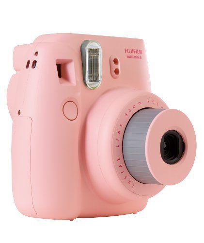 Eine pinke Sofortbildkamera für lustige Bilder mit direktem Ausdruck  Like <3 Repin <3
