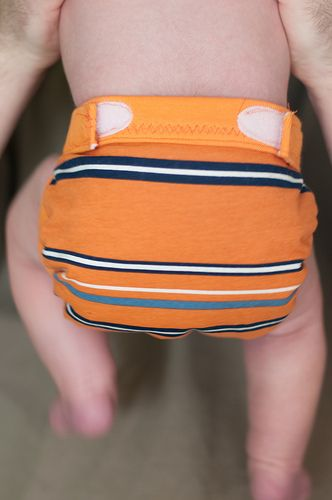 """DIY """"G Diapers.""""  I like this concept best of all the cloth diaper options I've seen.  Change the liner filler instead of the entire diaper.  Made a couple newborn sized ones."""
