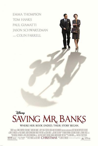 Saving Mr. Banks - un Disney sur l'origine du film Mary Poppins - article photogeniques.fr [Emma Thompson, Mary Poppins, Pamela Lyndon Travers, Tom Hanks, Walt Disney]