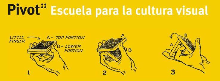 Pivot :: Escuela para la cultura visual. Madrid & Portable School. Cofundado y Coordinado por Carlos Albalá y Félix Fuentes con la colaboración de Ana Amado (@aamadopazos) y Juanan Requena (@nodetenerse). + info: www.pivot.es.