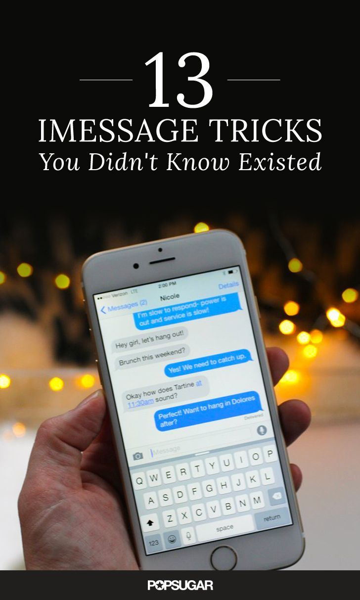 13 iMessage Tricks You Were Too Embarrassed to Ask