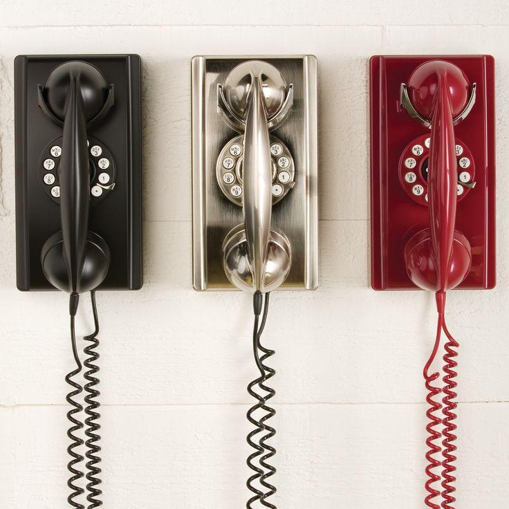 Vintage Wall Phone | Sturbridge Yankee Workshop