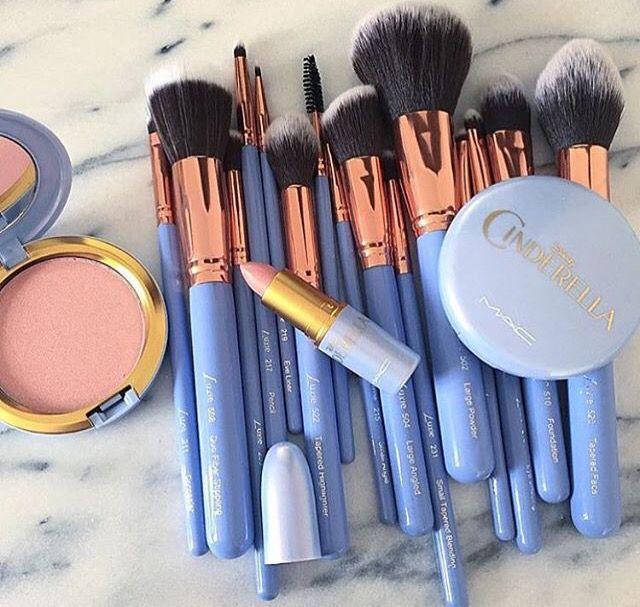 #pinceis #kit #makeup