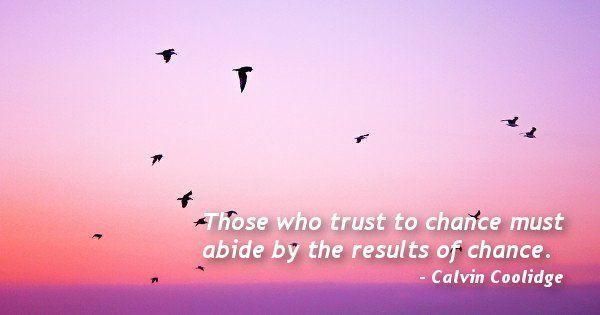 Calvin Coolidge Quote