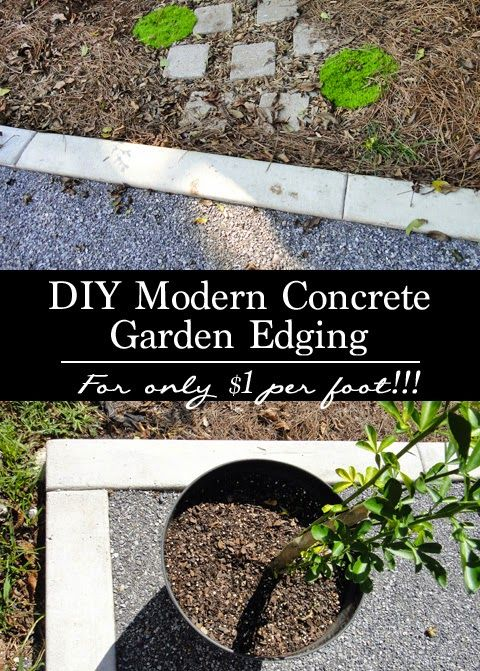 1000 ideas about patio edging on pinterest river rock for Diy garden borders