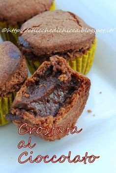 Le chicche di chicca: Bocconcini di Crostata al Cioccolato
