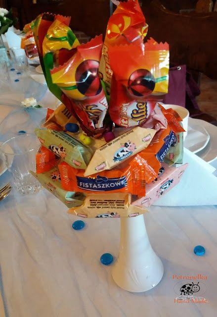 Petronelka Hand Made: Bukiety ze słodyczy