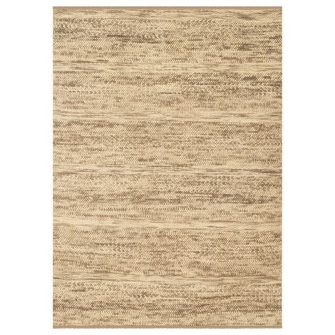 Hand Woven Knotted Wool Ivory Area Rug