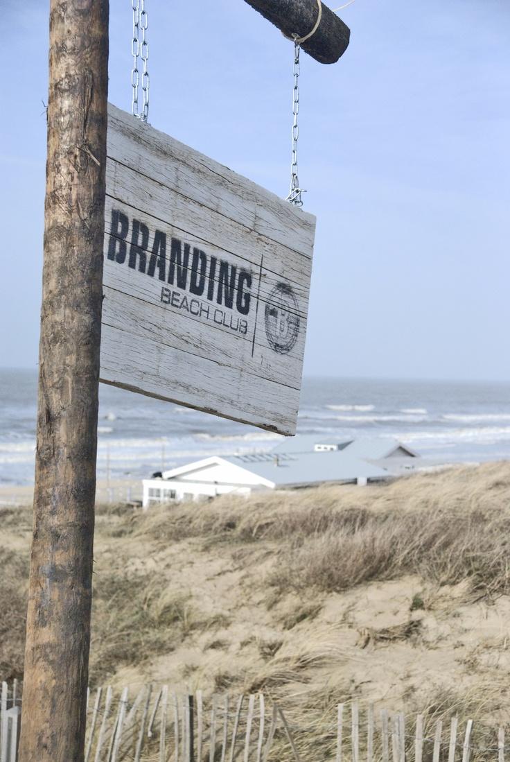 Lunchen aan zee, Branding Beachclub Noordwijk