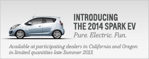 The All new 2014 #Chevrolet Spark Electric Vehicle     2013 Chevy Cars, Trucks, SUVs, Crossovers and Vans | Chevrolet