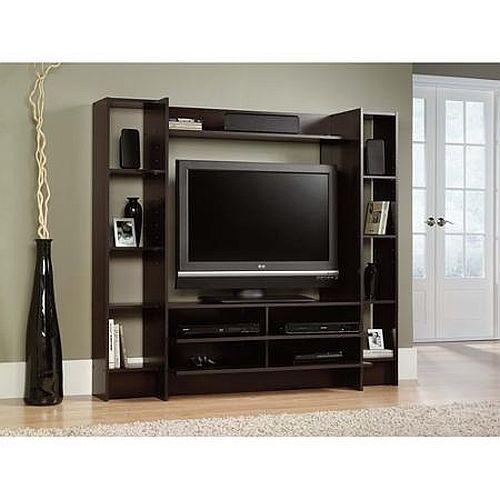 Wood TV Stand Entertainment Center Storage Cabinet Console Media Home Furniture #Modern