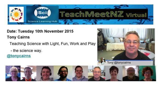 TeachMeetNZ - Cairns_Tony