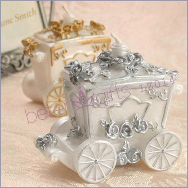 Cinderella pumpkin carriage candle, castle theme party small gifts lz014 wedding…