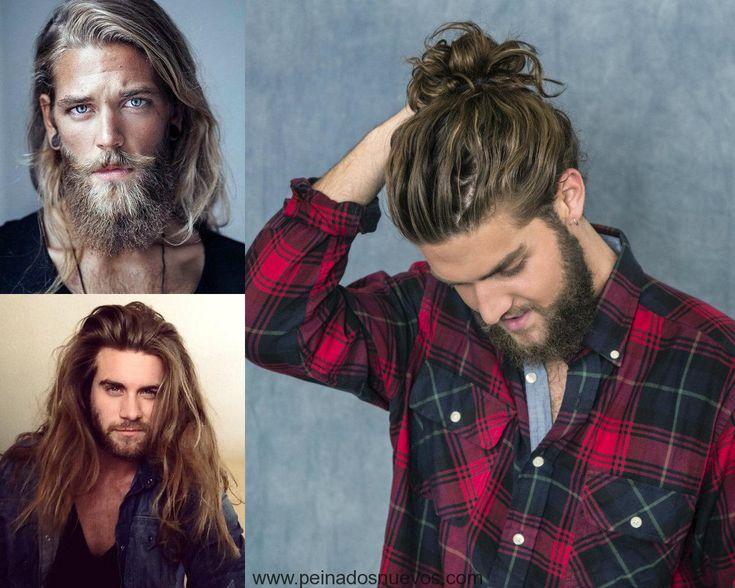 Mejores peinados largos sexy para hombres 2017