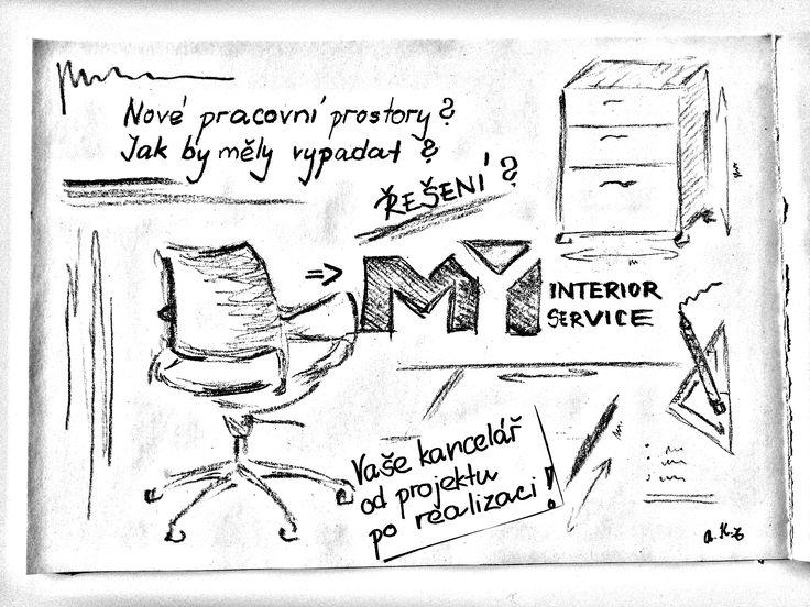 MYi je Vaše kancelář od projektu po realizaci. Nadčasovost. Kreativita. Flexibilita. Nadšení. Jsme tady pro Vás a svou práci děláme nesmírně rádi! :-) www.myi.cz  Přejeme Vám krásný slunný den, přátelé! S nadšením pro design interiérů a kanceláří, Váš tým MYi