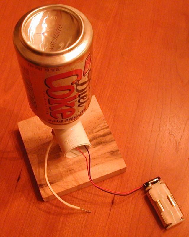 Static Electricity: Making a simple Van de Graaff generator