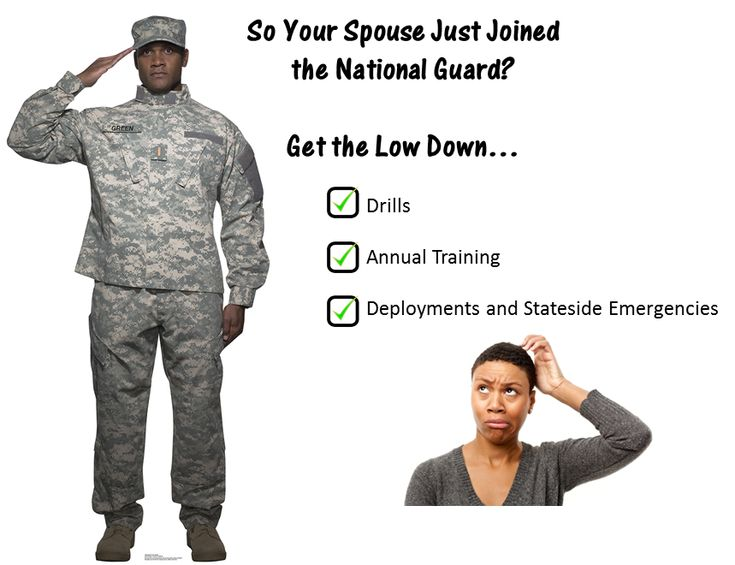 So Your Spouse Just Joined the National Guard?