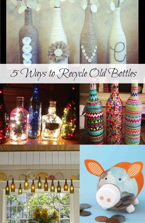 Plastic bottles are everywhere. One of the best ways to save environmental pollution is by recycling bottles! See how it's done ------> http://www.discountqueens.com/5-ways-to-recycle-old-bottles/