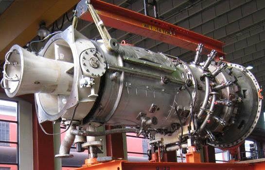 Siemens SGT-600. Turbina de Gas 25 MW.