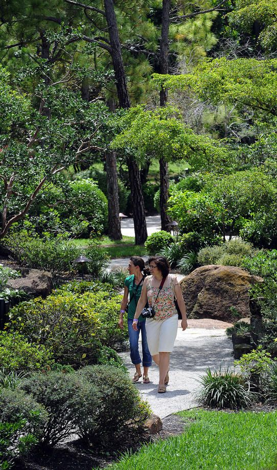 Morikami Japanese Gardens: This Japanese park is a refuge from the city' stress. 4000 Morikami Park Rd, Delray Beach