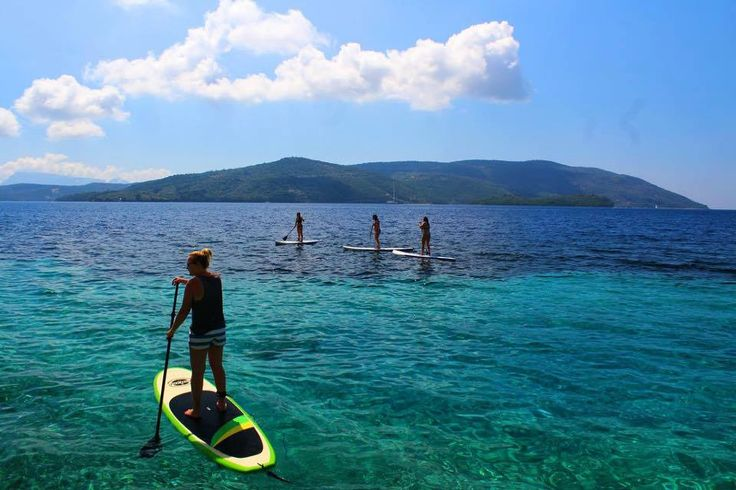 Experience the SUP style with Lefkada Paddleboard Cruises