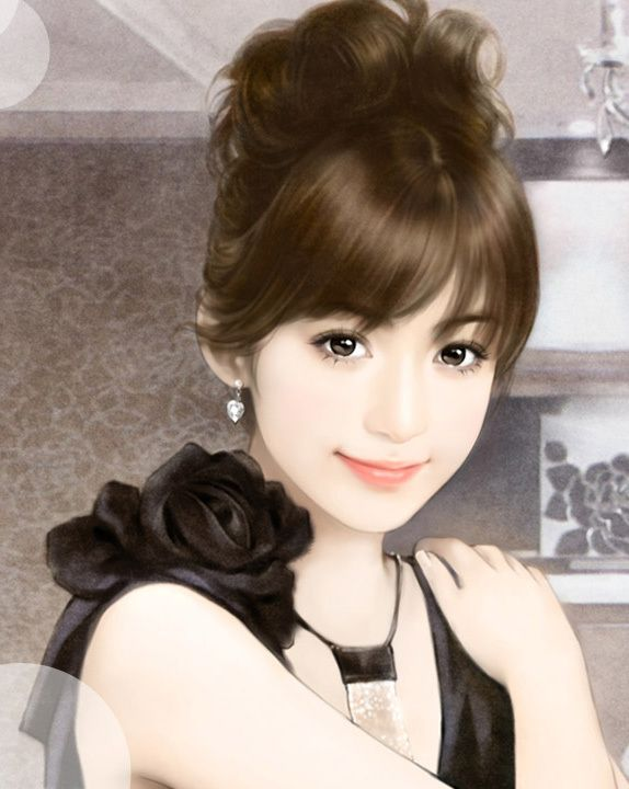 chinese illustration art 中国美人画 [Chinese beauty paintings]