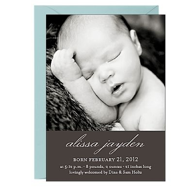 11 best Birth announcement images – When to Send Baby Announcements