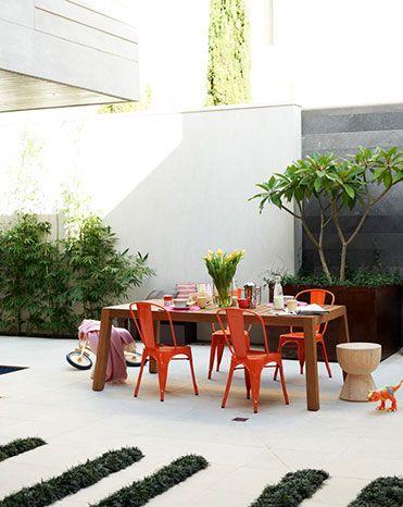 Love this! Clair Olivia Wayman Interior Stylist. Need to get me a Frangipani tree..