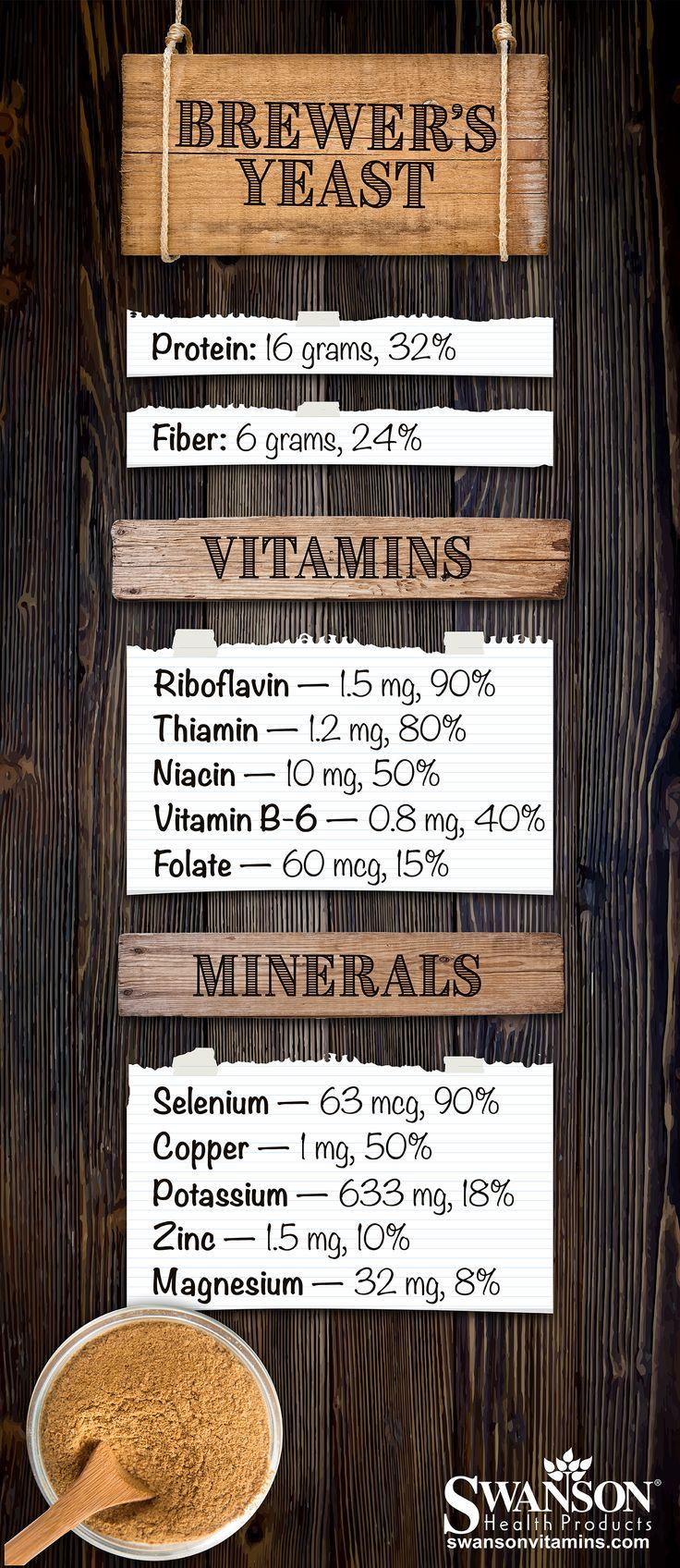 Brewer's Yeast Nutrition Benefits